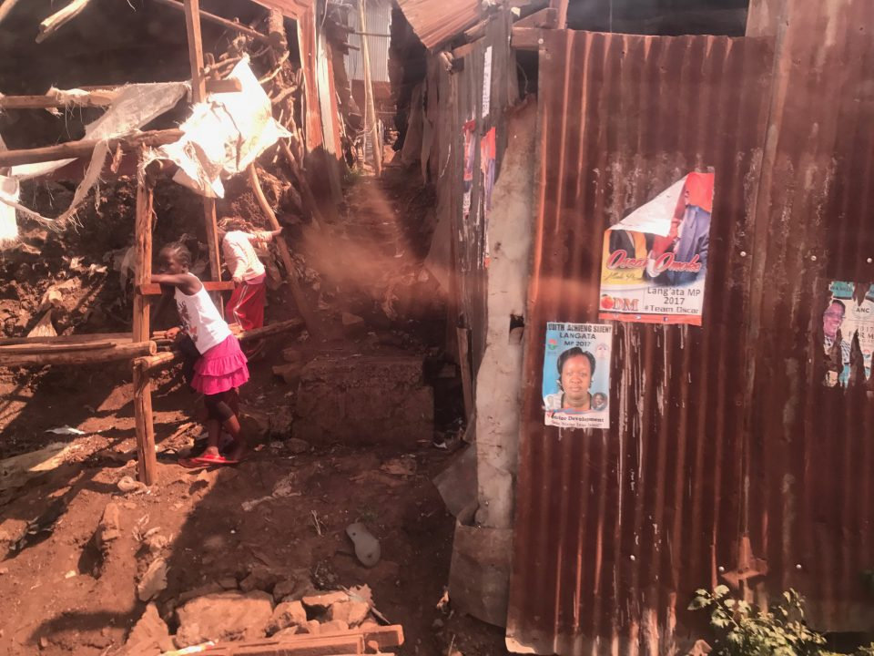 kibera slump Nairobi kenya